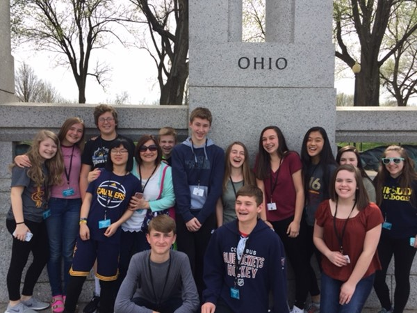 OFMS 8th Grade Washington, DC Trip 2017