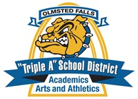 Olmsted Falls City Schools Triple A Logo