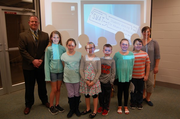 SWAT Team Presents to Board of Education - February 2017