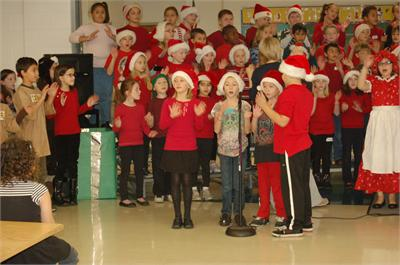 3rd Grade Christmas Concert Rehearsals