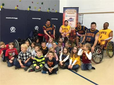 Disability Awareness Week - Cleveland Wheelchair Cavaliers Assembly