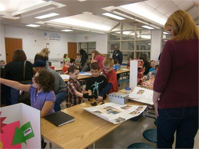 2nd Grade Invention Fair (East and South)